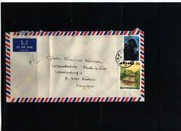 Rwanda 1985 Interesting Airmail Letter - Airpost