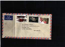 Kenya 1985 Interesting Airmail Letter - Kenya (1963-...)