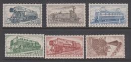 Czechoslovakia SG 946-951 1956 European Freight Services, Mint Never Hinged - Czechoslovakia