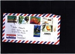Singapore 2000 Interesting Airmail Letter - Singapore (1959-...)
