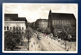 Pologne. Breslau (Wroclaw). Schweidnitzer Strasse.Feldpost Aéroport Militaire De Schöngarten. Octobre 1940 - Pologne