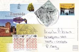 ENSENADA, 200 AÑOS DE SU FUNDACION. CIRCULEE NUEVE DE JULIO 2011 A CABA. STAMP A PAIR - BLEUP - Postal Stationery