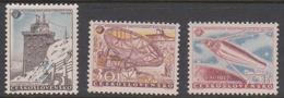 Czechoslovakia SG 1012-1014 1957 Inter, Geophysical Year, Mint Never Hinged - Czechoslovakia