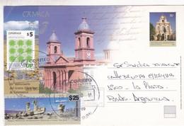 CATAMARCA, 50 ANIVERSARIO CENTRO FILATELLICO. CIRCULEE  NUEVE DE JULIO 2018 A CABA-ENTIER - BLEUP - Postal Stationery