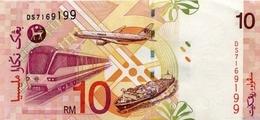 MALAYSIA P. 42d 10 R 2001 UNC - Malaysia