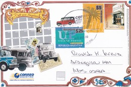 CAFE DE LOS ANGELITOS. CIRCULEE  NUEVE DE JULIO 2018 A CABA-ENTIER - BLEUP - Postal Stationery