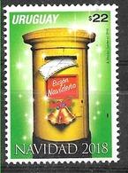 URUGUAY 2018 CHRISTMAS,NATAL,NAVIDAD RELIGION MNH - Uruguay