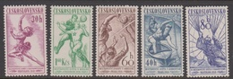 Czechoslovakia SG 1015-1019 1958 Sports Events, Mint Never Hinged - Czechoslovakia