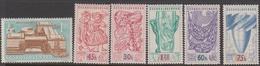 Czechoslovakia SG 1025-1030 1958 Brussels Inter, Exhibition, Mint Never Hinged - Czechoslovakia