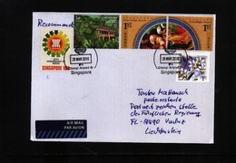 Singapore 2010 Interesting Airmail Letter - Singapour (1959-...)