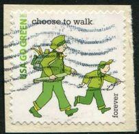 VEREINIGTE STAATEN ETATS UNIS USA 2011 GO GREEN: CHOOSE TO WALK F SC 4524E MI 4685 YV 4345 SG MS5118E - Etats-Unis
