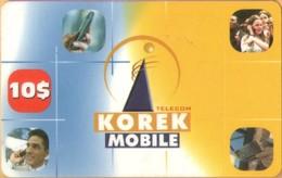 Iraq - Korek Telecom, Prepaid GSM Refill, Korek Mobile, North Irak Erbil, 10$, Used - Iraq