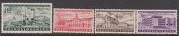 Czechoslovakia SG 1054-1057 1958 National Stamp Exhibition Brno, Mint Never Hinged - Czechoslovakia
