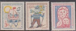 Czechoslovakia SG 1063-1065 1958 UNESCO Headquarter Inauguration, Mint Never Hinged - Czechoslovakia