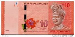 MALAYSIA P. 53 10 R 2012 UNC - Malaysie