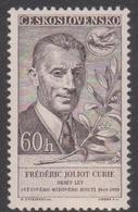 Czechoslovakia SG 1088 1959 10th Anniversary Peace Movement, Mint Never Hinged - Czechoslovakia