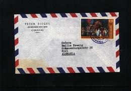 Venezuela Interesting Airmail Letter - Venezuela