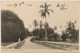 Zanzibar. Walezo Bridge. 1904. - Tanzanie