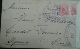 O) 1918 BRAZIL, LIBERTY HEAD SCT 204 100 Reis Rose, BY THE MILITARY AUTHORITY. TO ALGERIA, XF - Brésil