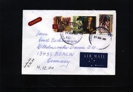 Australia 2001 Interesting Airmail Letter - 2000-09 Elizabeth II