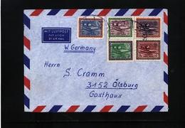 Saudi Arabia Interesting Airmail Letter - Saudi Arabia
