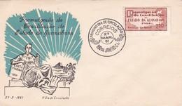 FDC-PROMULGAÇAO DA CONSTITUÇAO DO ESTADO DA GUANABARA. OBLITERE RIO DE JANEIRO 1961 - BLEUP - FDC