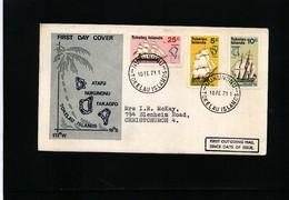 Tokelau Islands 1971 Interesting Letter - Tokelau