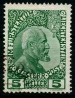 LIECHTENSTEIN 1912 Nr 1x Gestempelt X6F6F0E - Liechtenstein