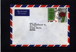 Gambia 1977 Interesting Airmail Letter - Gambie (1965-...)