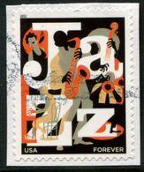 VERINIGTE STAATEN ETATS UNIS USA 2011 JAZZMUSIC F USED ON PAPER SC 4503 MI 4669 YV 4328 SG 5102 - Etats-Unis