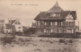 """De Panne , La Panne ;   Villa  """" Les Mésanges  """" ; N° 69 - De Panne"""