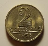 Brazil 2 Cruzeiros 1956 - Brésil