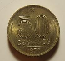 Brazil 50 Centavos 1956 - Brésil