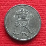Denmark 2 Ore 1958 KM# 840.2  Dinamarca Danemark Danimarca Denemarken - Danemark