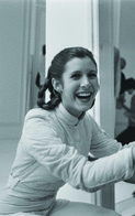 Carrie Fisher PHOTO POSTCARD FILMSTARS - Femmes Célèbres