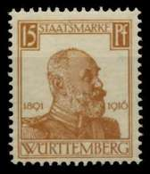 WÜRTTEMBERG DIENST Nr 244 Postfrisch Gepr. X70C27A - Wurttemberg