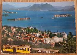 STRESA (Novara/Verbania) - Stresa E Le Isole Borromeo - Lago Maggiore - Tram Train Treno   Vg - Novara