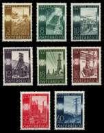 ÖSTERREICH 1947 Nr 803-810 Postfrisch X716C0A - 1945-.... 2. Republik