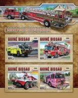Guinea Bissau 2016   Fire Engines - Guinée-Bissau