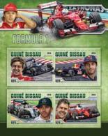 Guinea Bissau 2016   Formula 1 Racing Cars - Guinée-Bissau