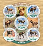 Guinea Bissau 2016  Fauna  African Wild Dogs - Guinée-Bissau