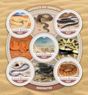 Guinea Bissau 2016  Fauna  Snakes - Guinée-Bissau