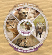 Guinea Bissau 2016  Fauna  Sand Cats - Guinée-Bissau