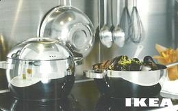 IKEA * FURNITURE STORE * SWEDEN * SWEDISH * KITCHEN * POT * Ikea 2007 06 Ch B2 * Switzerland - Gift Cards