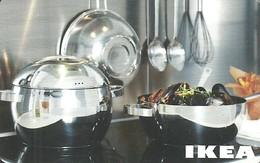 IKEA * FURNITURE STORE * SWEDEN * SWEDISH * KITCHEN * POT * Ikea 2007 06 Ch C * Switzerland - Gift Cards