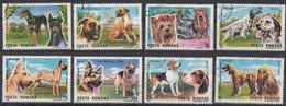 ROMANIA - 1990 - Serie Completa Obliterata: Yvert  3869/3876; 8 Valori; Esposizione Internazionale Canina Di Brno - 1948-.... Republics