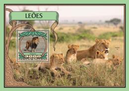 Guinea Bissau 2016  Fauna  Lions - Guinée-Bissau
