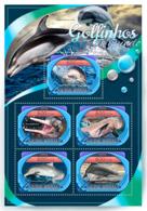 Guinea Bissau 2016 Fauna Dolphins - Guinée-Bissau