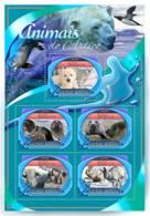 Guinea Bissau 2016 Fauna Arctic Animals Polar Bears - Guinée-Bissau