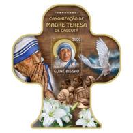 Guinea Bissau 2016 Mother Teresa - Guinée-Bissau